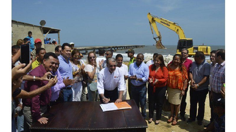 Abren licitación para reconstrucción del Muelle de Puerto Colombia, este 26 de febrero