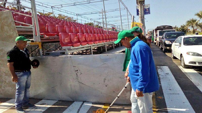 Alcaldía refuerza controles por desfiles de Carnaval en la Vía 40