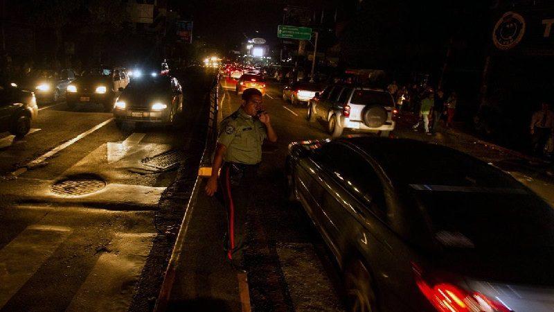Apagón dejó a oscuras el oeste de Venezuela