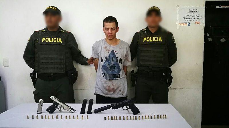 Capturado por homicidio en Altos de Riomar vino desde Medellín a cometer el crimen