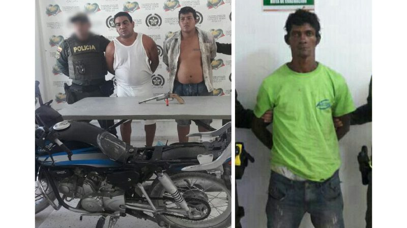 Capturan a dos atracadores y un expendedor de droga en Malambo y Barranquilla
