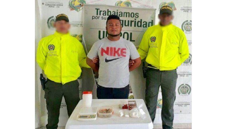 Ce 'Jhon Pico', encargado de vender la droga de los 'Papalopez' en Soledad
