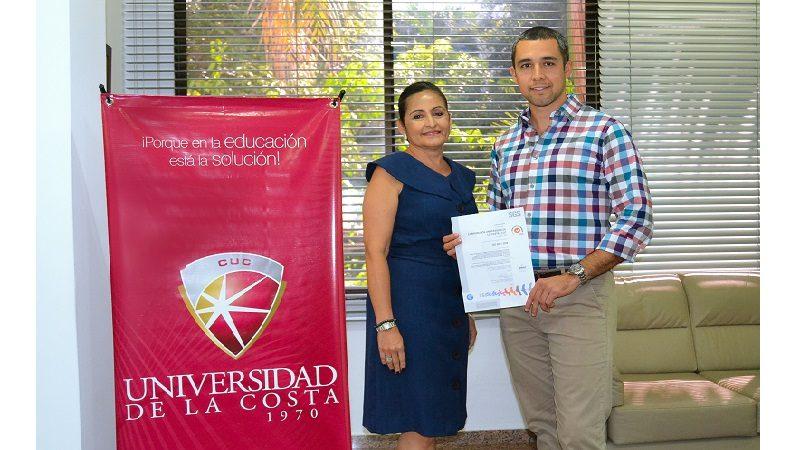Certifican a la Universidad de la Costa CUC en Procesos de Calidad