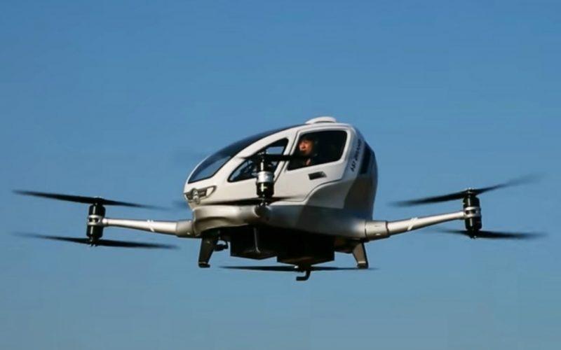 China realiza el primer vuelo de un dron tripulado