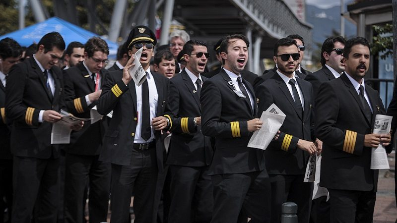 Despegan procesos disciplinarios contra pilotos de Avianca que participaron en huelga