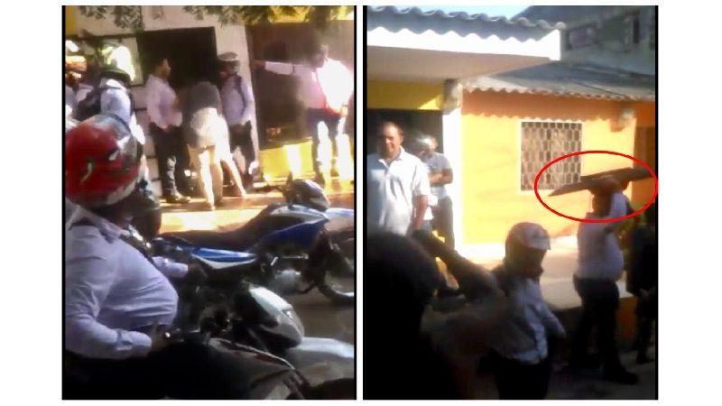 Doce cobradiarios allanan casa de cliente en Soledad y se llevan sus pertenencias