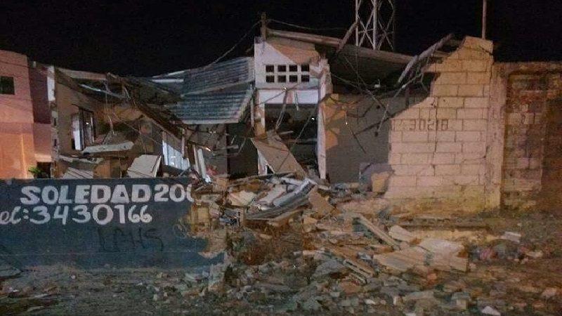 ELN se atribuye atentado contra CAI de Soledad 2000