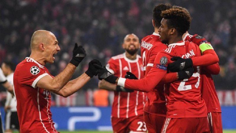 El Bayern Múnich goleó 5-0 al Besiktas, James salió lesionado