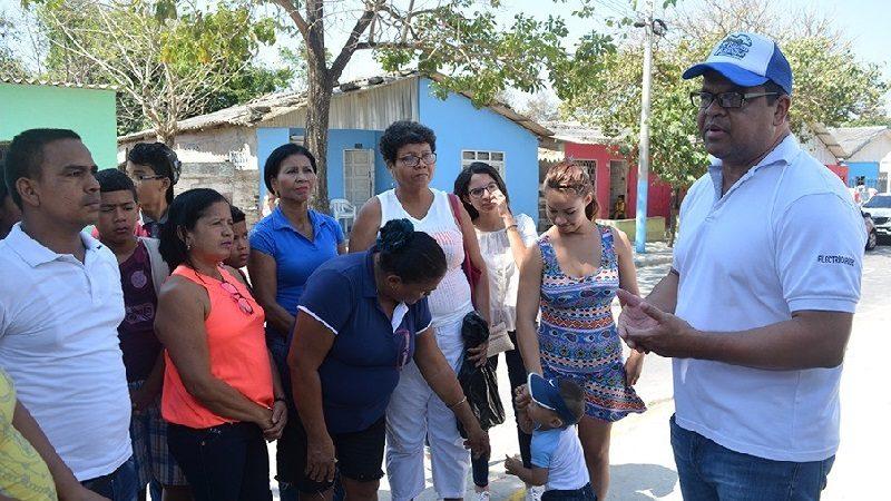 Electricaribe realizó jornada de formación de líderes en el barrio Las Américas