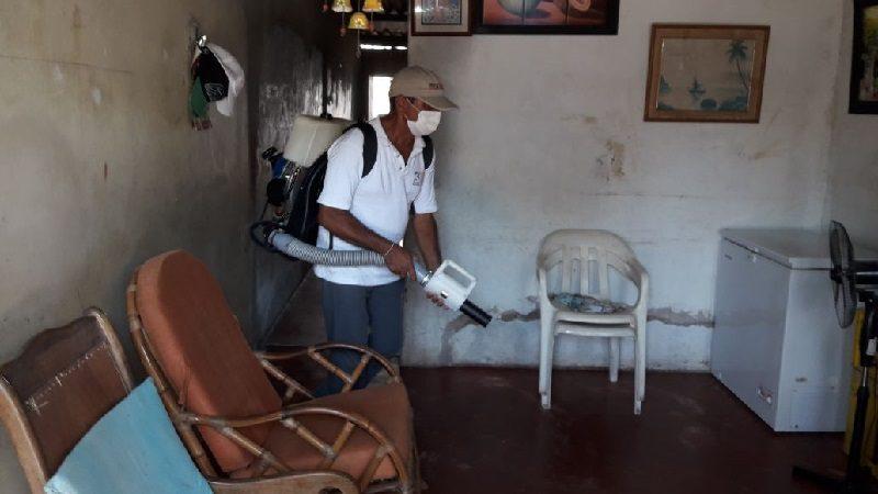 Fumigan barrios en el municipio de Malambo para combatir el dengue