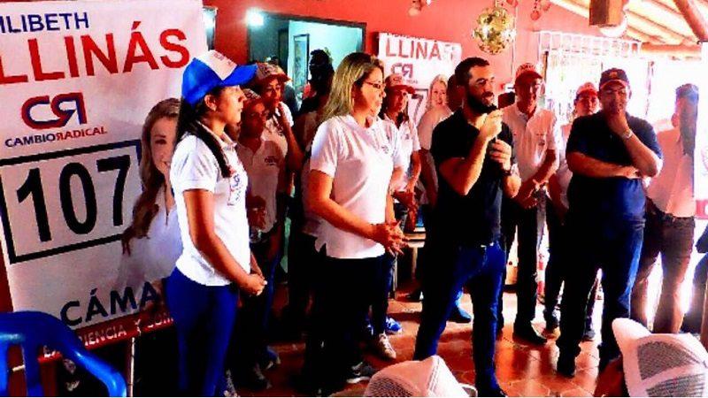 Grupo político del ex alcalde de Campo de la Cruz, Claudio Gómez, adhiere a la campaña de Lilibeth Llinás