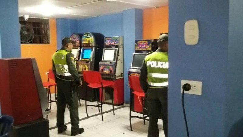 Incautan 4 máquinas tragamonedas ilegales en Cartagena