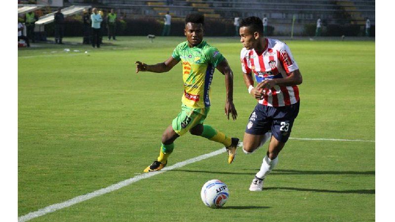 Junior de visitante cayó 1-0 ante Huila, en la fecha 4 de la Liga