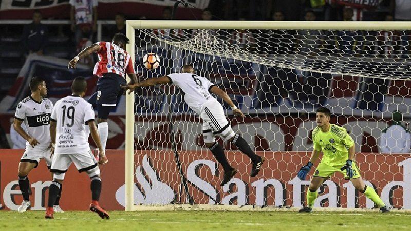 Junior venció 3-1 a Olimpia y se prendió el carnaval