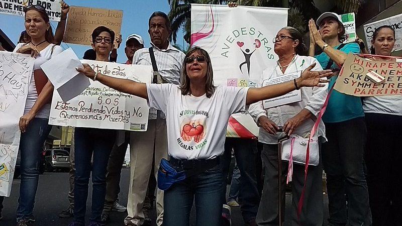 Pacientes renales en Venezuela, a punto de morir por falta de tratamiento