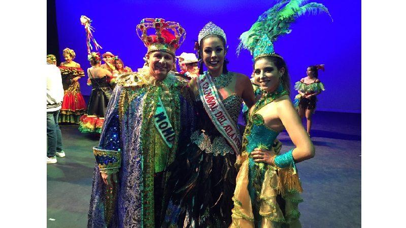 Reina del Carnaval del Atlántico llevó su alegría a obras sociales en Bogotá
