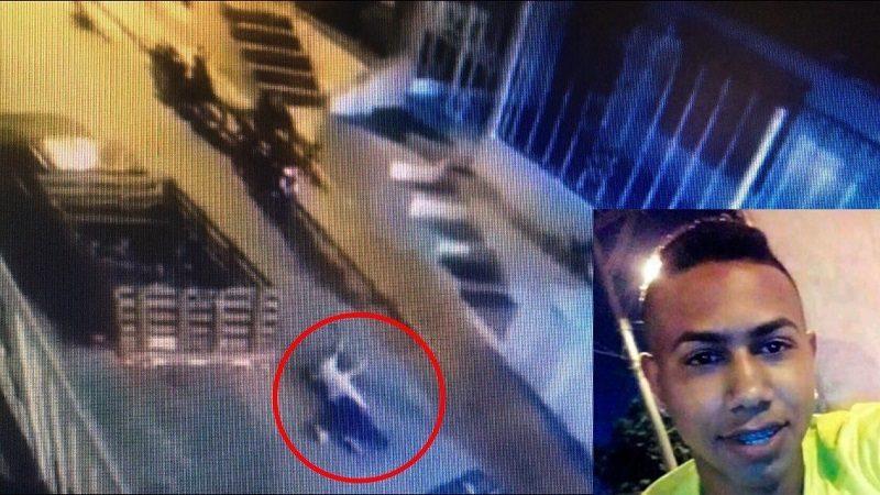 Revelan vídeo del asesinato de un joven en el barrio La Sierrita