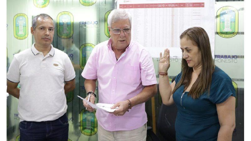Se posesionan dos nuevos Registradores en Soledad, previo a elecciones