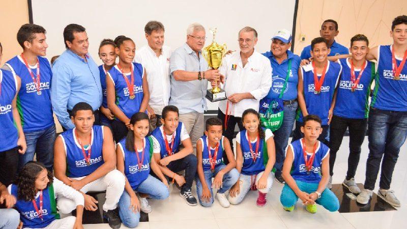 Soledad, campeón de los Juegos Deportivos