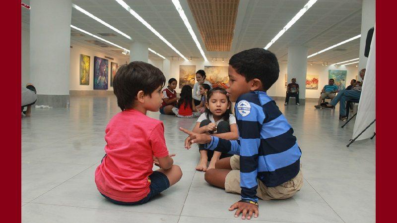 Abren inscripciones para Vacacional infantil artístico en La Galería Plaza de la Paz