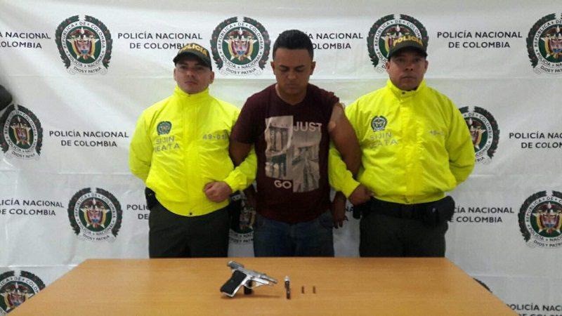 Alias 'Carelenteja' se enfrentó a tiros con la Policía en Sabanalarga para impedir su captura