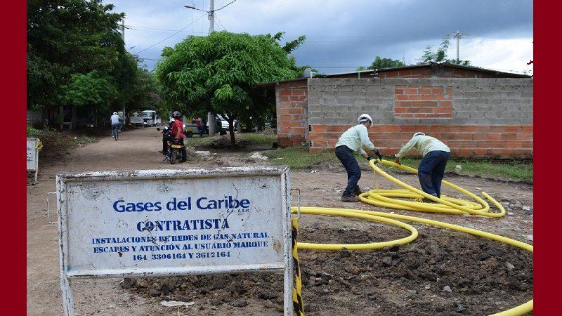 Amplían cobertura del servicio de gas en el municipio de Galapa