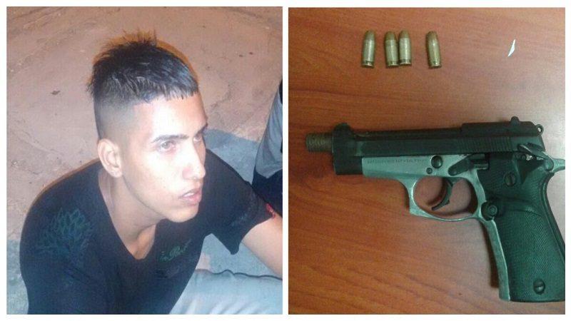Atentado a bala deja un herido y dos capturados en el barrio Moderno