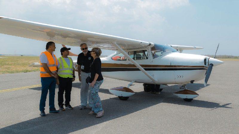 Atlántico comenzó a ser destino turístico de la aviación privada