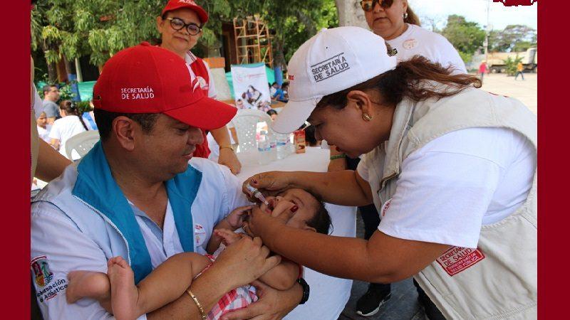 Atlántico refuerza vacunación para combatir la reaparición del sarampión