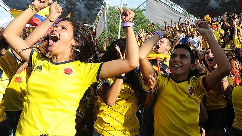 Colombia, segundo país que más boletas ha comprado para Rusia 2018