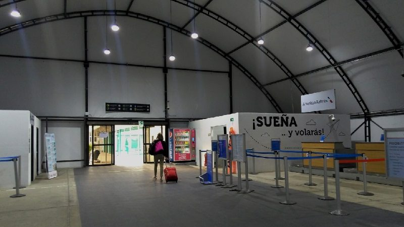 Comienza traslado de locales comerciales en el Aeropuerto Internacional Ernesto Cortissoz