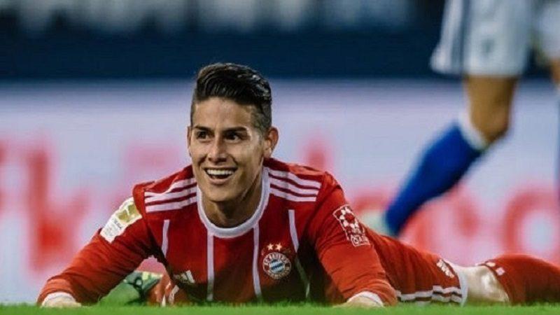 Con James Rodríguez, el Bayern derrotó 3-1 al Besitkas y avanzó a cuatros de final