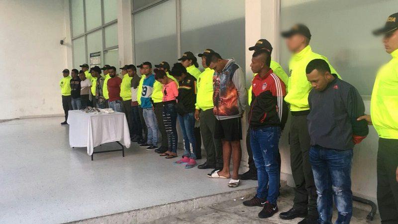 Desmantelan banda 'los Calabazos' que asesinaba, extorsionaba y vendía droga en Barranquilla