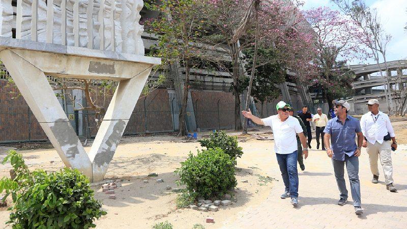 Distrito inició recuperación de alrededores del estadio Metropolitano