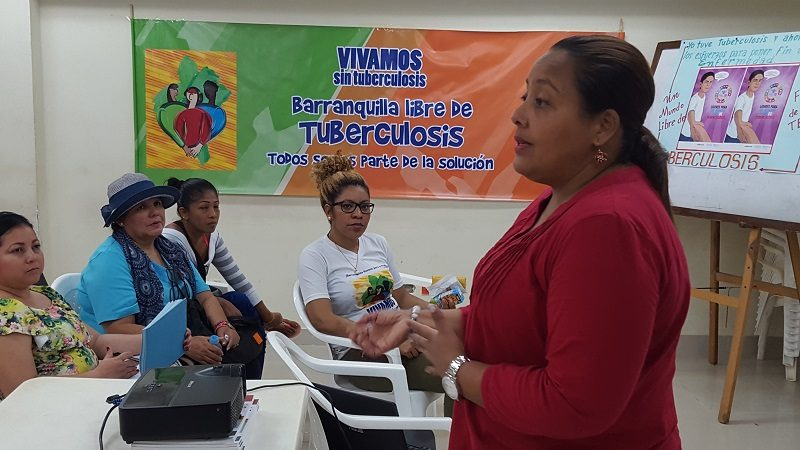 Distrito refuerza búsqueda casa a casa de pacientes con tuberculosis