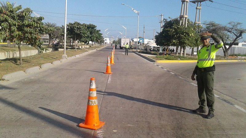 En febrero se impusieron 22.647 comparendos a conductores en Barranquilla