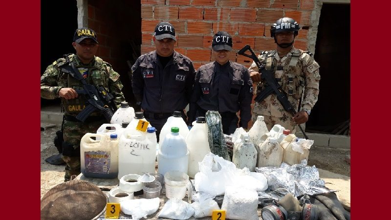 Fiscalía desmantela en Barranquilla laboratorio para procesar cocaína