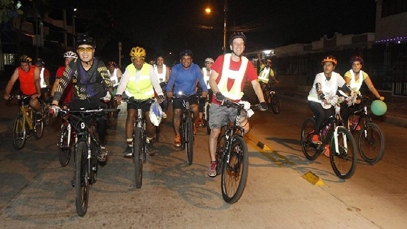 Hoy martes 6 de marzo, a pedalear en la primera Bciquilla de 2018