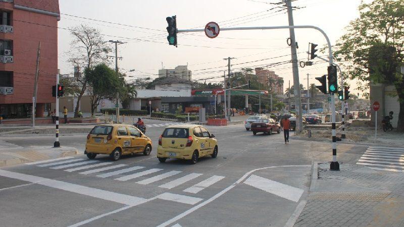 Imponen 9 comparendos pedagógicos a conductores en primer de cambios viales en Barranquilla