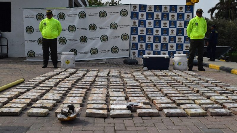Incautan más de 300 kilos de clorhidrato de cocaína en Puerto Caimán, Tubará