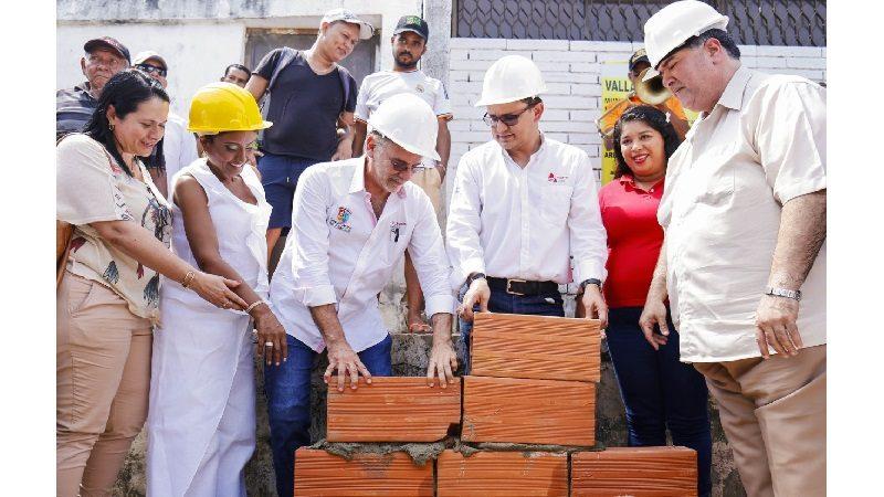 Inició construcción de moderno Puesto de Salud en el corregimiento La Peña