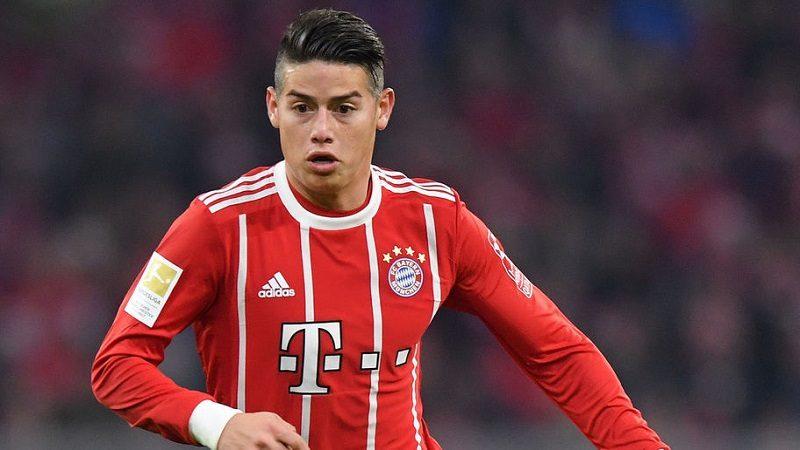 James regresa a la lista del Bayern para duelo de Liga de Campeones, este miércoles