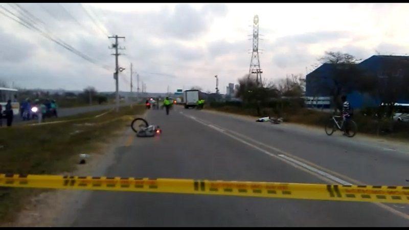 Muere motociclista arrollado por un vehículo en la Cordialidad
