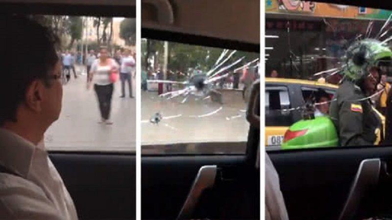 No hubo disparos contra el vehículo de Gustavo Petro