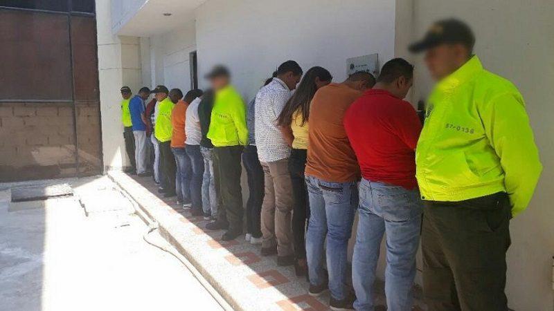Operación Puma II deja 14 capturados por chance ilegal, venta de droga y homicidio