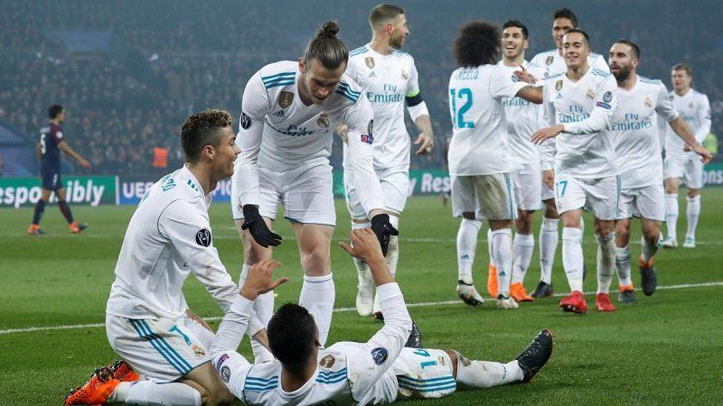 Real Madrid venció 2-1 al PSG y se metió a los cuartos de la Champions