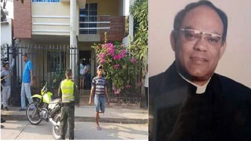 Repudian asesinato del sacerdote, Dagoberto Noguera, en Santa Marta