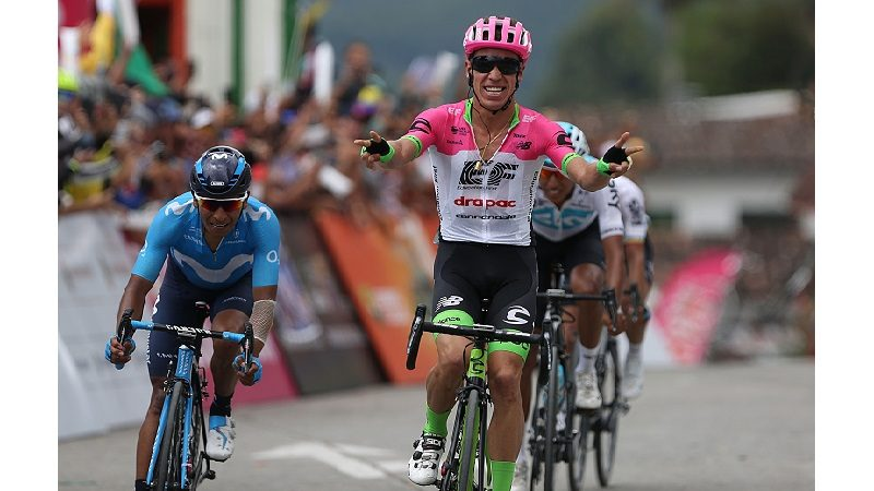 Rigoberto Urán, quinto en la tercera etapa de la Tirreno Adriático