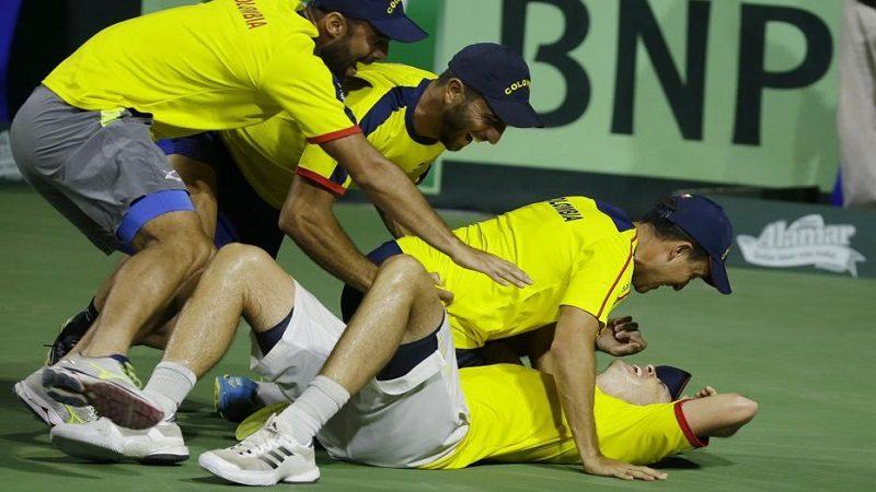 ¡Histórico! Colombia venció 3-2 a Brasil en Copa Davis