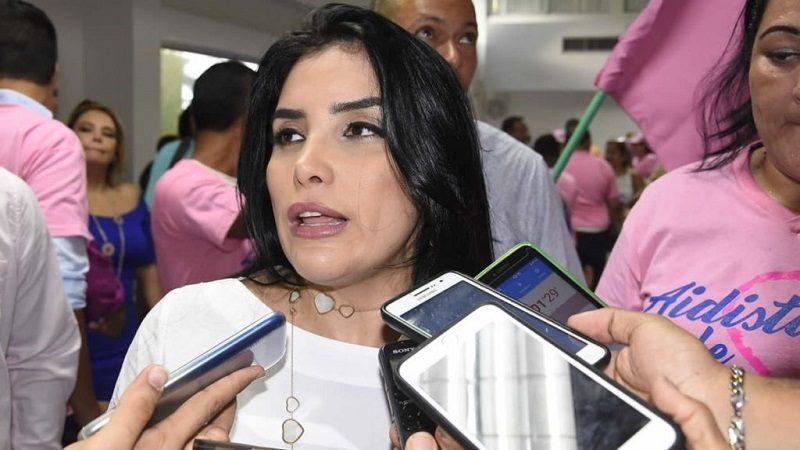 Aída Merlano se entregó a las autoridades, en Bogotá